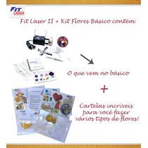 Máquina Para Fazer Fuxico E Flores - Original Fit Laser