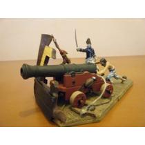Soldados De Chumbo Coleção Planeta Deagostini S / O Canhão