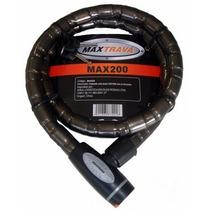Cadeado Espiral Max Travas Max200
