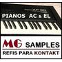 Samples Pianos Roland Xp80, Jv1000 Kontakt (lançamento)