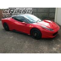 Replica Ferrari F458 + V6 + Ar + Dh + Doc Nome Do Cliente