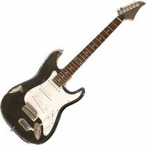 Guitarra Stratocaster Art Pro Acrílica Profis - Frete Grátis