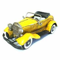 Miniatura Metal Carro Antigo Artesanal Rústico Vintage Cr103