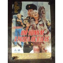 Cartaz Homem A Prova De Balas Gary Busey Cinema Poster Foto