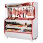 Vitrine Refrigerada Tendal P/ Carnes 1,50m - Garantia 1 Ano