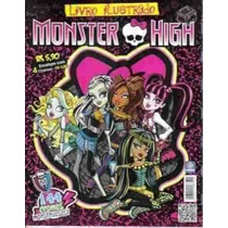 Monster High Album De Figurinhas Completo