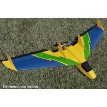 Aeromodelo Elétrico Arf - Delta Xtreme | Cor Verde E Azul |