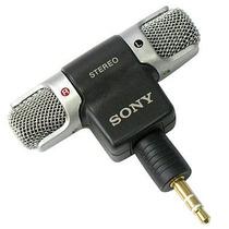 Microfone Sony Ecm-ds70p - Stéreo Para Notebook, Gravadores