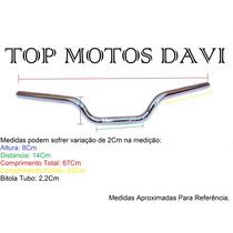 Guidão Moto Honda Cb 500 Cromado Com Fixa Peso ../03 - 1603