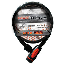 Cadeado Espiral Max Travas Max300