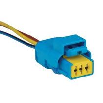 Chicote/conector/plug Farol Bifocal Duplo Peugeot 206