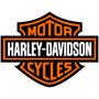 2 Adesivos Logo Harley Davidson 20x16 P/ Moto Carro Notebook