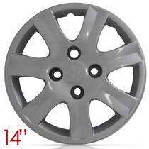 Jogo Calota Aro 14 Peugeot 206 207 307