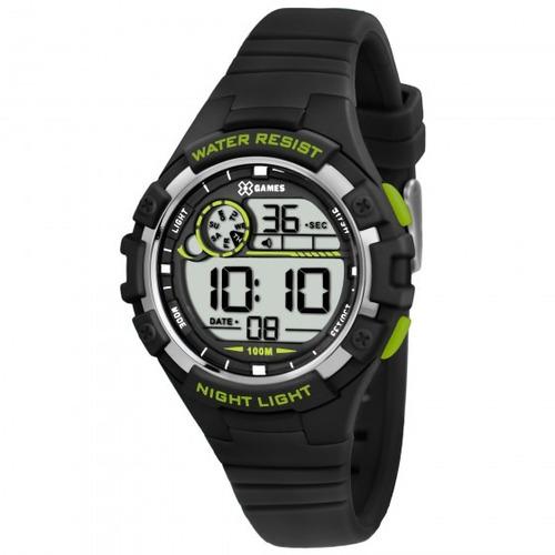 c8e4484c51c Relógio Xgames Xkppd012 Bxpx Unissex Masc Preto - Refinado. R  162.5