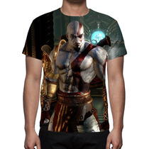 Camisa, Camiseta God Of War Kratos 2 - Estampa Total