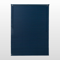 Persiana Horizontal Cortina 1,20 X 2,20cm Azul Aluminio 25mm