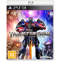 Transformers: Rise Of The Dark Spark - Ps3 Lacrado - S. G.