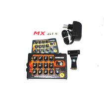 Amplificador De Headphone Power Click Mx 4x1 Stereo C/ Fonte