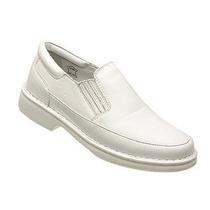 Sapato Masculino Branco Médico, Enfermeiro - Grátis Cinto