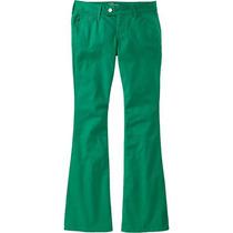 Calça Jeans Feminina Flare Colorida - Frete Grátis
