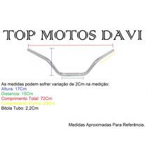 Guidão Moto Suzuki Intruder 125 Cromado Sem Fixa Peso - 3710