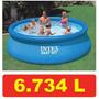 Piscina Intex 6734 Litros Std * 366 Cm 3,66 M Ñ 5621 Bestway