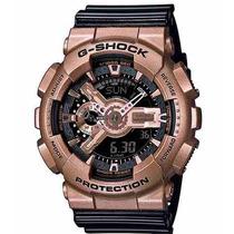 Relogio Casio G-shock Ga 110gd 9b2dr Preto Rose Gold