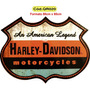 Quadros Retro Harley Davidson Route 66 Ford Coca-cola Shell