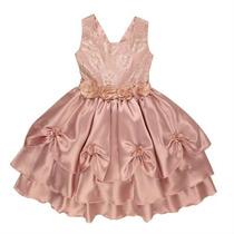 Vestido Infantil De Festa Tamanho: 4 Ao 12