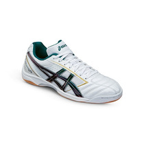 Chuteira Asics Calcetto Fs Pearl White/green Purple - Futsal