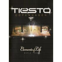 Dvd Tiesto - Copenhagen Elements Of Life World Tour (duplo)