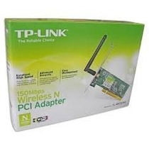 Adaptador Wireless Pci Tp-link 150 Mbps Tl-wn751nd