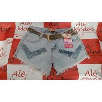 Shorts Jeans For Use Com Detalhes Em Taxas