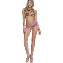 Biquini Leopard Pink Maria Gueixa Ref.: 2614