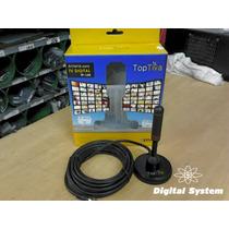Antena Interna E Externa Toptiva Uhf Hdtv - Digital System.