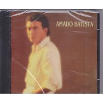 Cd Amado Batista 1987 - Lacrado De Fábrica - Frete Grátis