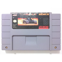 Cartucho Super Nintendo - Top Gear - Original,americano,veja