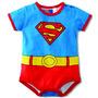 Body Bebê Desenho Animado Super Man