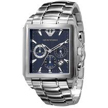 Relógio Empório Armani Ar0660 Azul Kaká Original Garantia