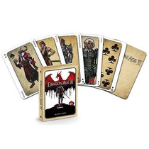 Escuro Luxo Cavalo: Dragon Age Ii Cartões De Jogo
