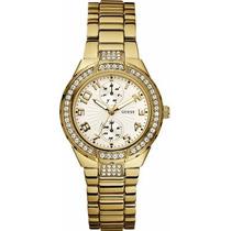 Relógio Guess Dourado - W15065l1 - Original