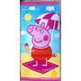 Toalha Peppa Pig - Pronta Entrega