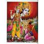 Krishna E Arjuna Poster 29 X 22,5 Importado India Khanna