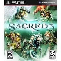 Sacred 3 - Ps3 - Lançamento - Codigo Psn!!