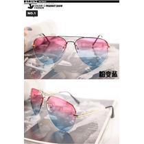 Óculos Bicolor Fashion Importado Pronta Entrega No Brasil