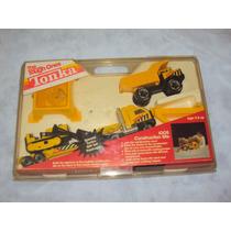 Brinquedo Antigo, Raro Kit Caminhões E Trator Tonka.