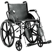 Cadeira De Rodas Em Aço 1016 C/ Pé Articulado - Jaguaribe