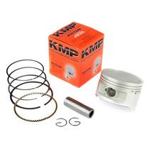 Pistão Kit C/ Anéis Kmp Agrale 16.5 De 1,00 Mm / 57mm