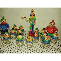 Kit Festa Tema Circo,palhaços,potes Palhacinhos