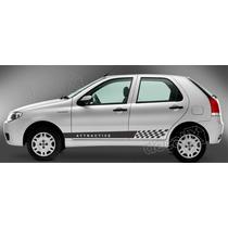 Adesivos Laterais Fiat Palio Attractive - Imprimax - Decalx